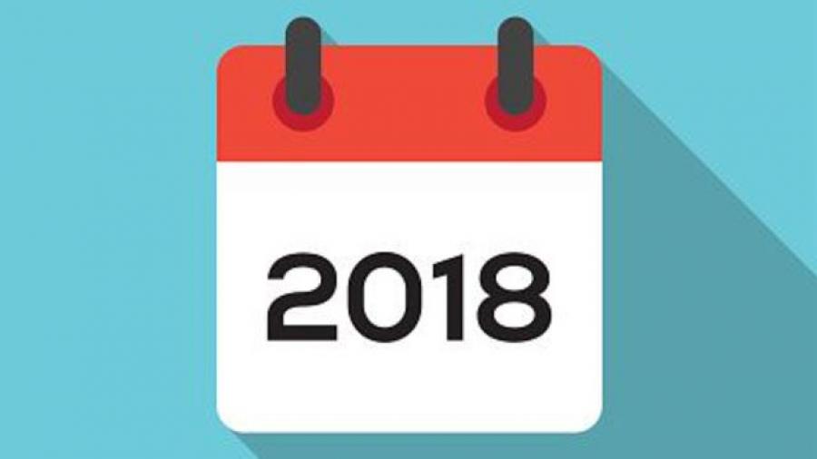 Calendario.Calendario Academico 2018